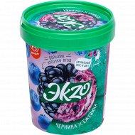Мороженое «Эkzo» черника-ежевика, 2%, 520 г.