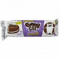 Печенье сахарное «Funny Cat» с какао и ароматом ванили, 95 г.