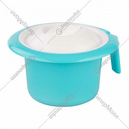 Горшок туалетный детский «Кроха» светло-бирюзовый.