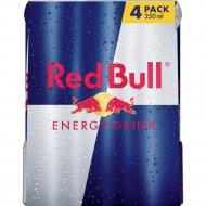 Напиток «Red Bull» энергетический, 4х0,25 л.