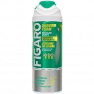 Пена для бритья «FIGARO» освежающая с ментолом, 400 мл.