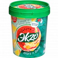 Мороженое «Эkzo» арбуз-дыня, 2%, 520 г.