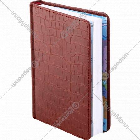 Ежедневник «Croco» недатированный, А6, 160 листов.