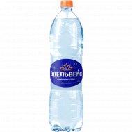 Вода минеральная лечебно-столовая «Эдельвейс» газированная, 1.5 л.