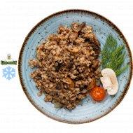 Каша с грибами и луком гречневая, 1/250.