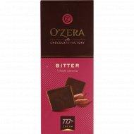 Шоколад горький «O'zera» 77.7%, 90 г.