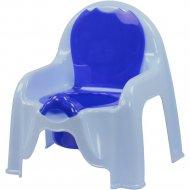 Горшок-стульчик голубой.