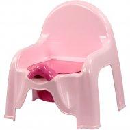 Горшок-стульчик «Альтернатива» М1528, розовый