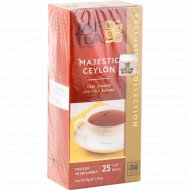 Чай черный «Jaf Tea» Majestic Ceylon, 25 пакетиков.