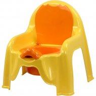 Горшок-стульчик «Альтернатива» М1328, желтый