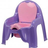 Горшок-стульчик светло-фиолетовый.