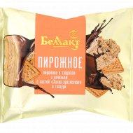 Пирожное «Беллакт» творог и халва арахисовая, 24%, 75 г.