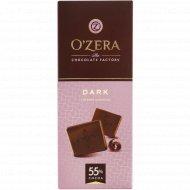 Шоколад горький «O'zera» 55%, 90 г.