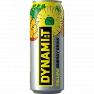 Напиток безалкогольный «Dynamit» энергетический, 0.5 л.