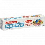 Зубная паста «Детский жемчуг» Волшебные фрукты, 50 мл.