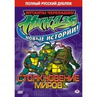 DVD-диск «Черепашки-ниндзя: Столкновение миров».