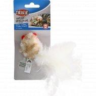 Игрушка «Trixie» курица, со звуком, 8 см.