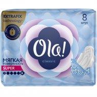 Прокладки женские «Ola!» гигиенические, супер, 8 шт.