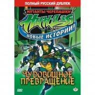DVD-диск «Черепашки-ниндзя: Чудовищное превращение».