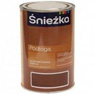 Эмаль «Sniezka» Podloga, средний орех, 1 л