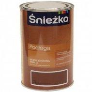 Эмаль «Sniezka» Podloga, промежуточный орех, 1 л
