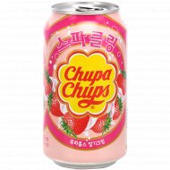Напиток безалкогольный «Chupa Chups» клубника, 0.345 л.