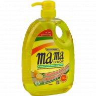 Средство для мытья посуды «Mama Lemon», антибактериальное, 1л.