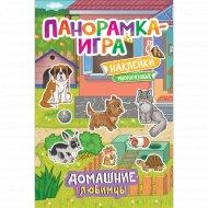 Книга панорамка игра «Домашние любимцы».