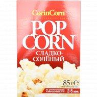 Попкорн «CorinCorn» сладко-соленый, 85 г.