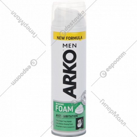 Пена для бритья «Arko» men Anti-Irritation, 200 мл.