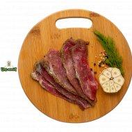 Продукт мясной из свинины «Окорок от шефа» соленый, в вакууме, 150 г.