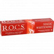 Зубная паста «R.O.C.S.» Волшебное отбеливание 74 г.