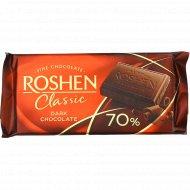 Шоколад черный «Roshen Classic» 70%, 90 г.