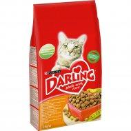 Корм для кошек «Darling» с курочкой по-домашнему и овощами, 2 кг.