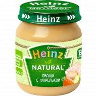 Пюре «Heinz» овощи с форелью, 120 г.
