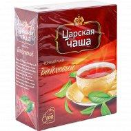 Чай черный «Царская чаша» байховый, 100 пакетиков.