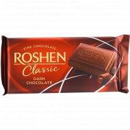 Черный шоколад «Roshen Classic» горький, 90г.
