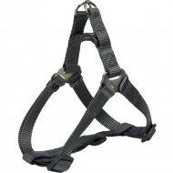 Шлея «Trixie» Premium One Touch harness, XL, 80-100смх25мм, графит.
