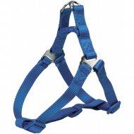 Шлея «Trixie» Premium One Touch harness, XL, 80-100смх25мм, синий.