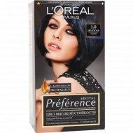 Краска для волос «L'oreal Preference» черный 1.