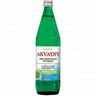 Вода минеральная «Аквадив» газированная, 0.75 л.