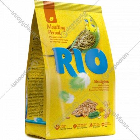 Корм для волнистых попугайчиков «Rio» в период линьки, 500 г.