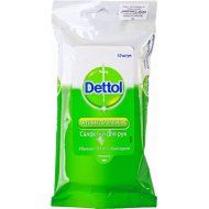 Салфетки для рук «Dettol» антибактериальные, 10 шт.