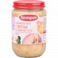 Пюре «Semper» паста с форелью, в сливочном соусе, 190 г.
