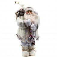 Статуэтка «Belbohemia» Дед Мороз, 46 см, белый.