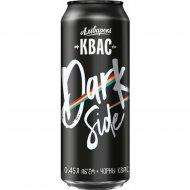 Квас брожения «Алiварскi квас чорны «Dark Side» 0.45 л.