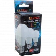 Лампочка LED A60, 10W, E27, 4000K.
