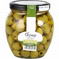 Оливки зеленые «Olymp» без косточки, 1000 г.