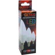 Лампочка LED С37, 7W, E14, 3000K.