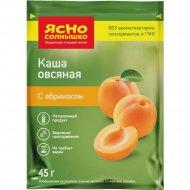 Каша «Ясно солнышко» овсяная с абрикосом 45 г.